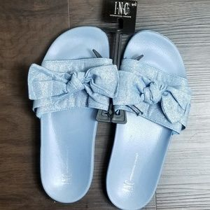 INC Bow Slippers